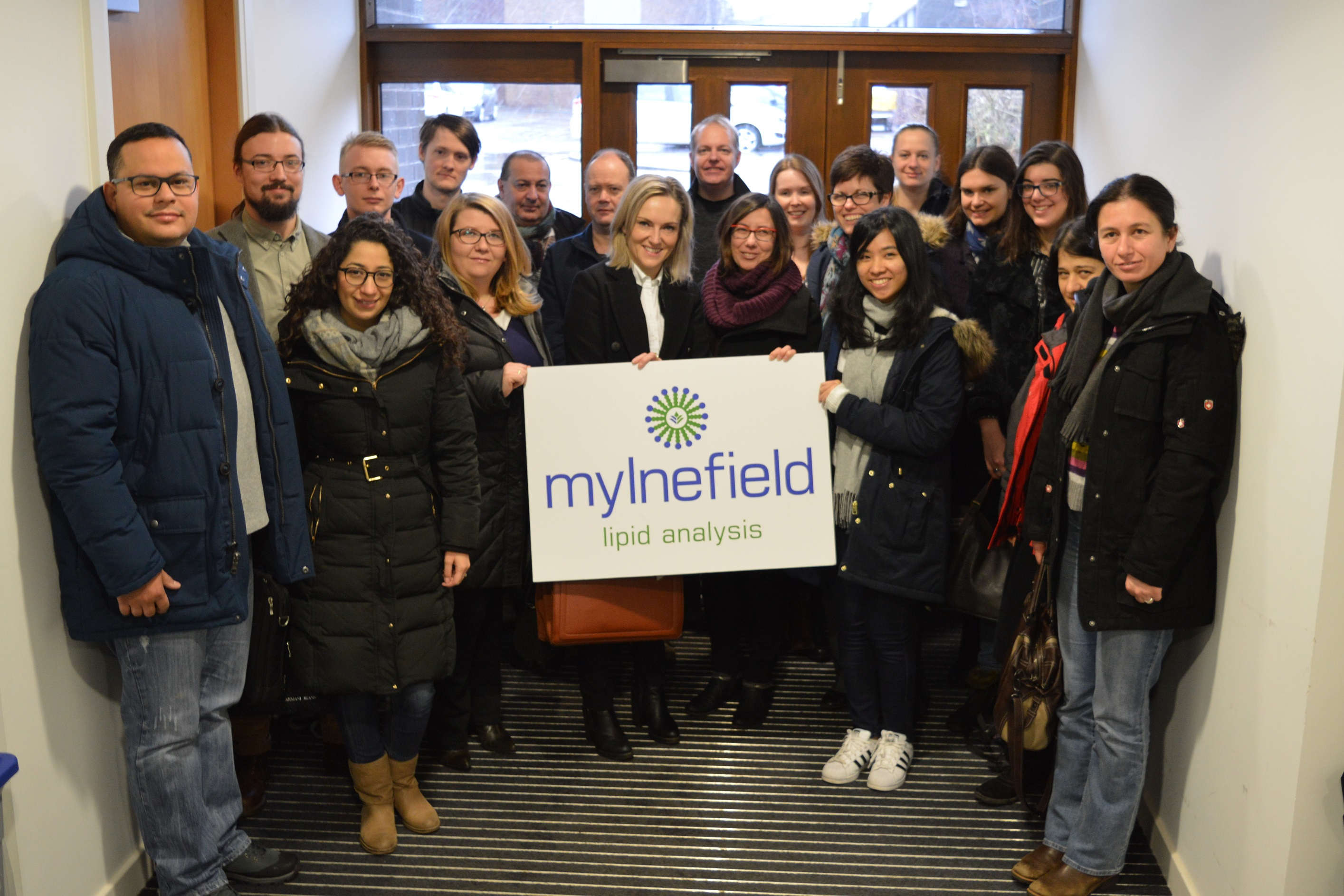 Course – attendees at the Fatty Acid & Lipid Analysis course February 2017
